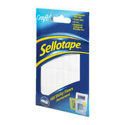 Sellotape Sticky Fixers Craft Pads 140 Pack
