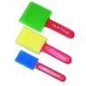 Assorted Foam Brush 3 Pack