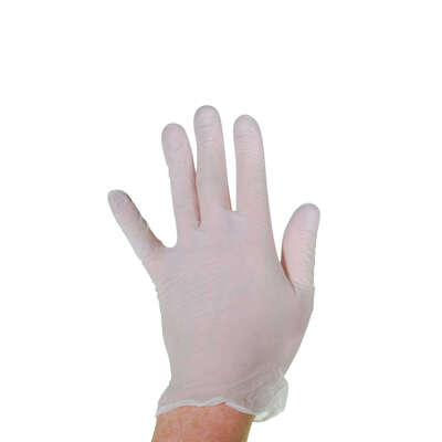Proform Powder-Free Stretch Vinyl Gloves 100 Pack - Size: Large