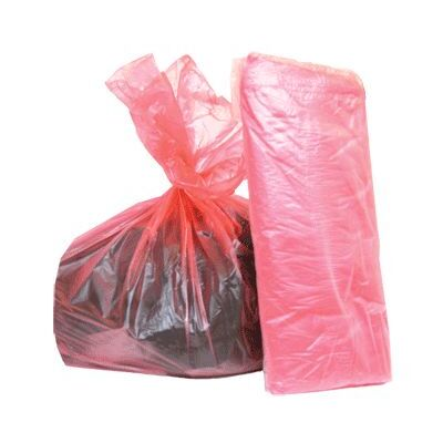 Soluble Laundry Sacks Red 200 Pack