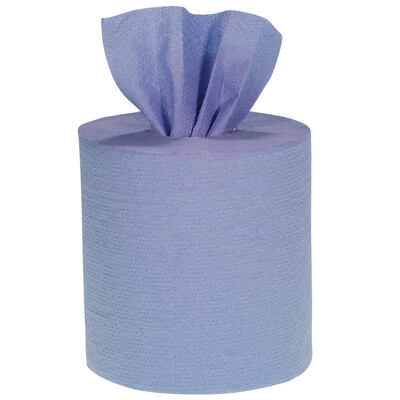 Soclean Centrefeed Blue Roll 2ply 115m 12 Pack