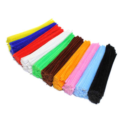 Assorted Pipe Cleaners 1000 Pack