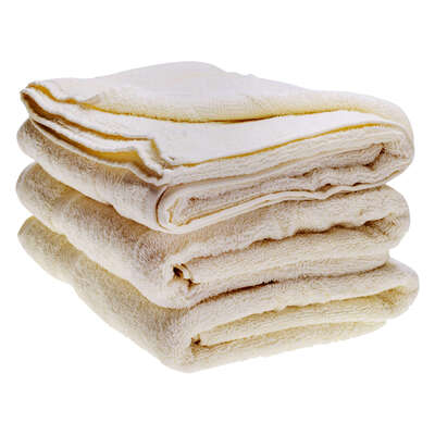 Bath Towel 70x130cm 500gm x 3 - Colour: Ivory