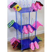 Mobile Welly Boot Trolley Small