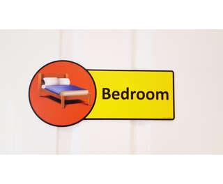 Premium Bedroom Sign