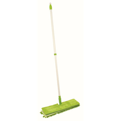 2 in 1 Microfibre Mop With Extending Handle