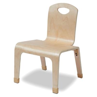 Low Wooden Teacher Chair