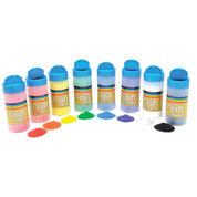 Coloured Craft Sand Assorted 8 Pack