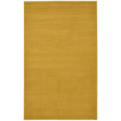 Plain Rug 120x170cm - Colour: Ochre