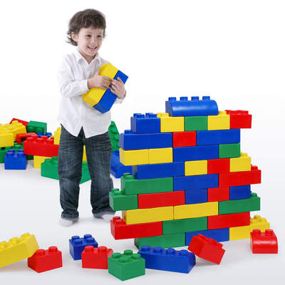 Big Block Construction Set Assorted Pack 42