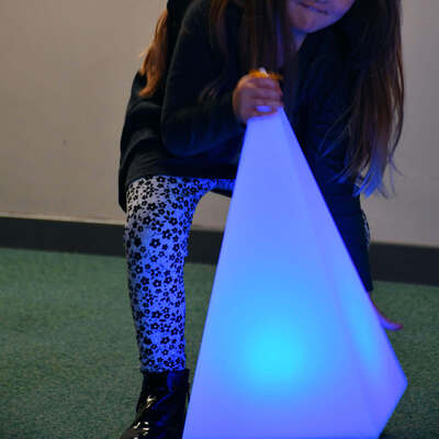 Sensory Mood Light Pyramid