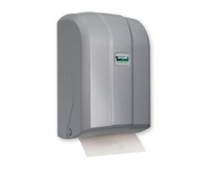 Bulk Pack Toilet Tissue Dispenser Silver