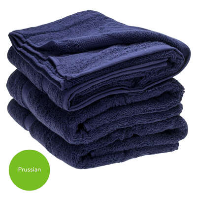 Bath Towel 70x130cm 500gm x 3 - Colour: Prussian
