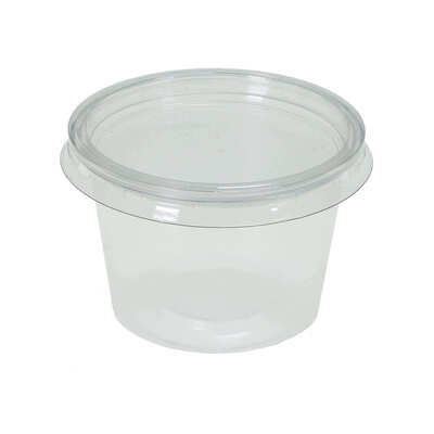 Containers and Lids 100 Pack - Size: 4oz