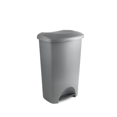 Addis Pedal Bin 50l Plastic Metallic Effect