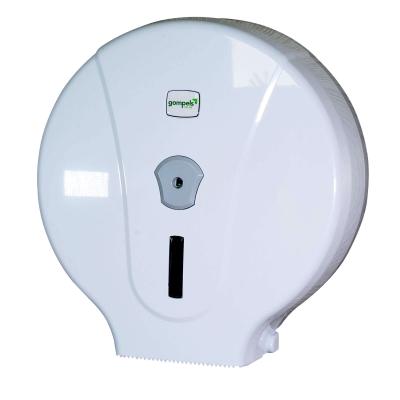 Gompels Jumbo Toilet Roll Dispenser White