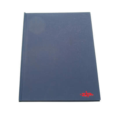 Manuscript Book Hard Back A4 Blue 160 Pages