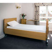 Flame Retardant Sleep-Knit Single Fitted Sheet Cream