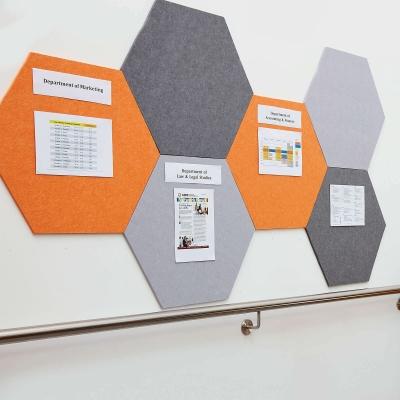 Eco Display Boards Hexagonal
