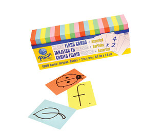 Blank Flash Cards 1000 Pk