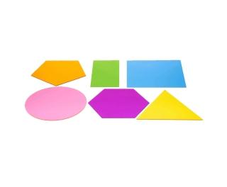 Jumbo Colour Mixing Shapes 6 Pk