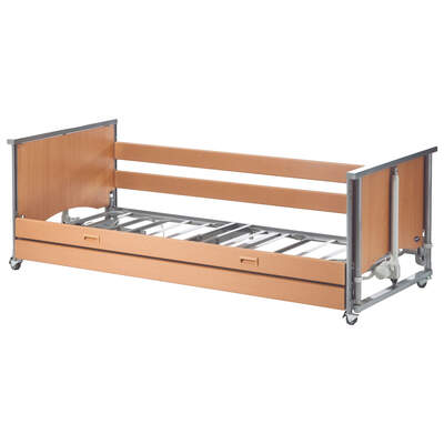 Medley Ergo Low Profiling Bed With Side Rails