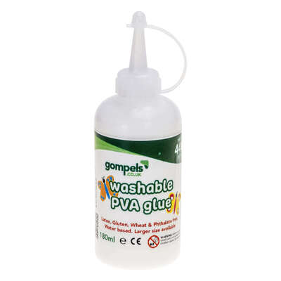 Gompels Washable PVA Glue 180ml