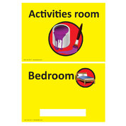 Personalised Bedroom/Activities Room Sign