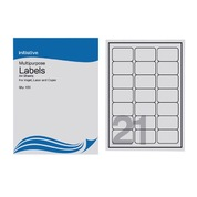 Multi Purpose Labels 63.5 x 38.1mm 21 Sheet 100pk