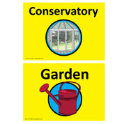Dementia Sign Garden/Conservatory