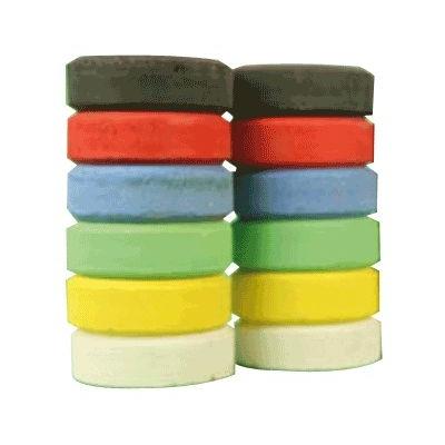Colour Blocks Standard Assorted Colours x 6