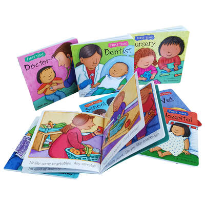 First Time Assorted Card Books 8 Pack