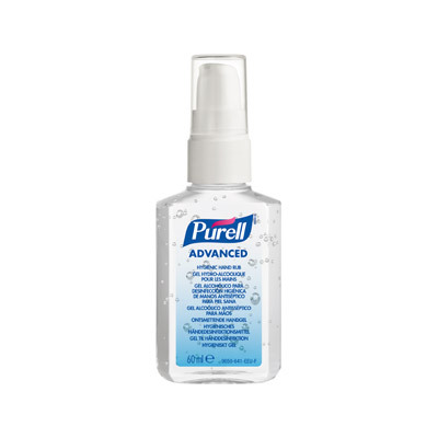 Purell Advanced Hygienic Hand Rub + Pump 60ml