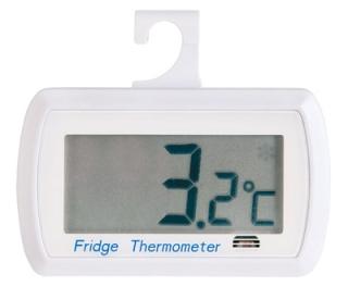 Digital Fridge Thermometer White