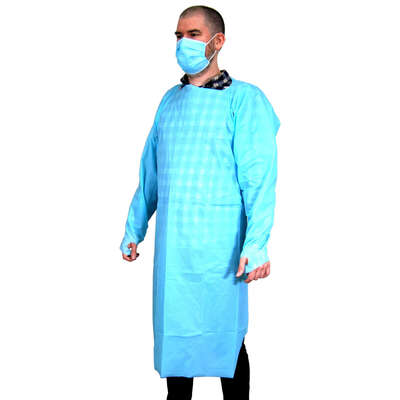 Disposable Sleeved Gown 10 Pack