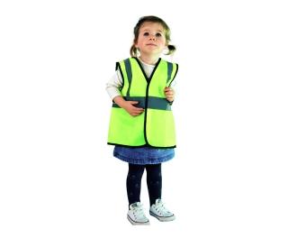 Childs Hi-Vis Vest Yellow