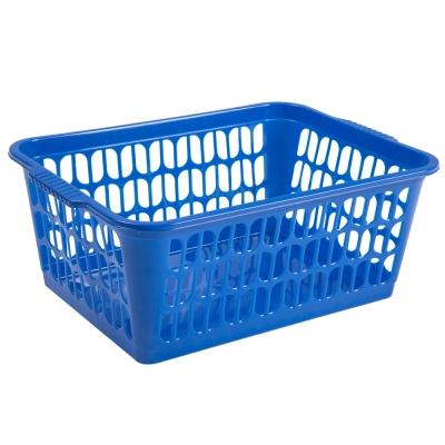 Large Storage Basket Blue