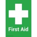 First Aid Box No Marking Adhesive Sign A5