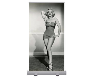 Marilyn Monroe Pop-Up Poster With Carry Case 1m x 2m