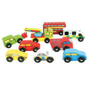 Small World Vehicles Assorted 9 Pack