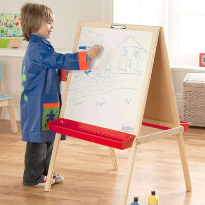Wooden Easel - Type: Two Sided