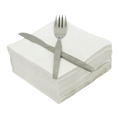 Soclean White Napkins 1ply 30x30cm 5000