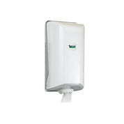Gompels Mini Centrefeed Paper Towel Dispenser White