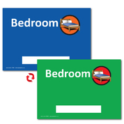 Dementia Sign Personalised Bedroom