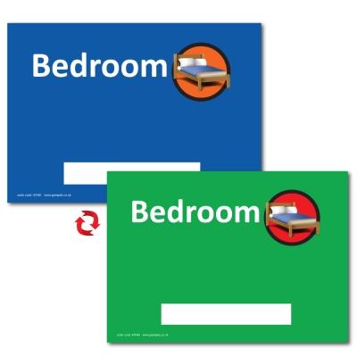Dementia Sign Personalised Bedroom