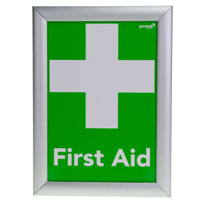 First Aid/Nearest First Aid Box Sign A4