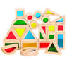Rainbow Block Set 24 Pcs