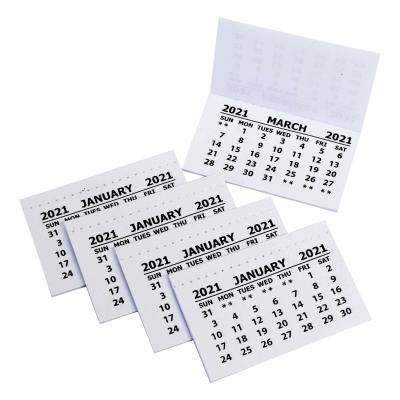 Calendar Tabs 2021 50 Pack
