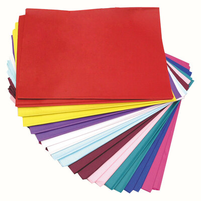 Tissue Paper Ream Assorted Colours 20