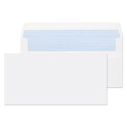 Dl Envelopes Self Seal 90gsm White 1000